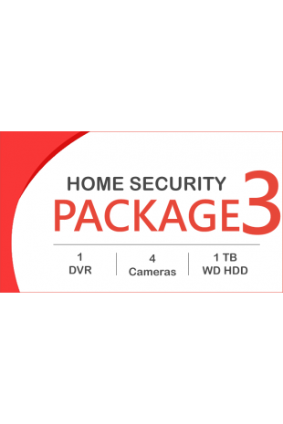 HD CCTV package - 4 Cameras