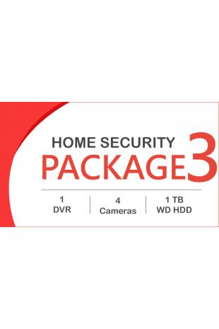 HD CCTV package - 4 Cameras