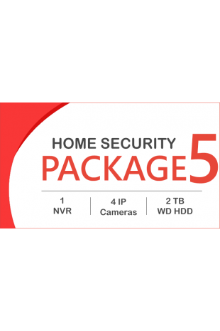 IP CCTV package - 4 Cameras...