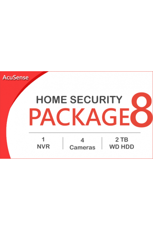 AcuSense CCTV package - 4...