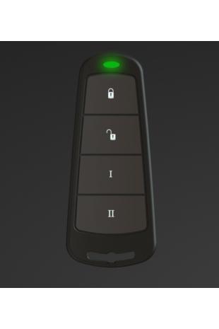 Two-way wireless keyfob