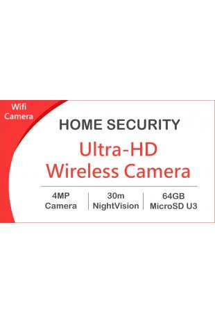Wireless camera package