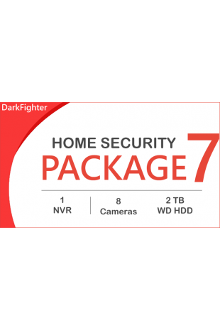 DarkFighter CCTV package -...